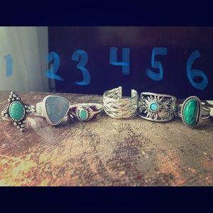 Beautiful sterling silver rings!!